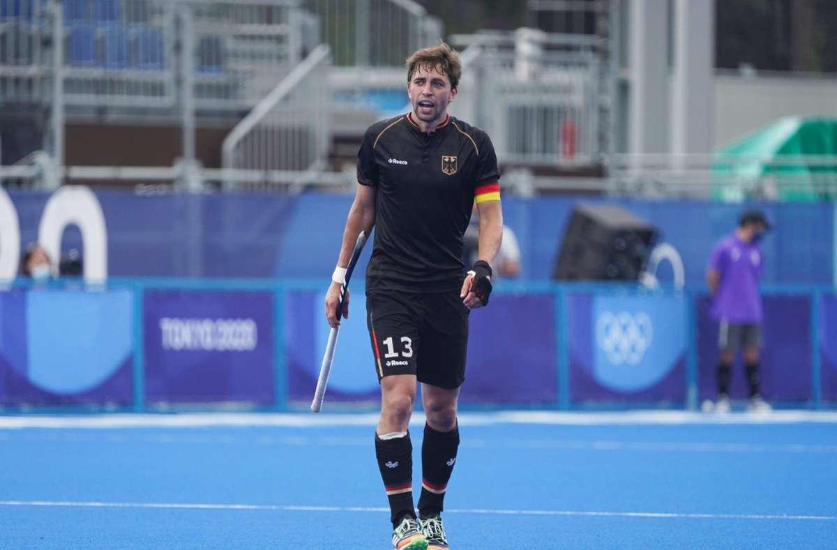Kapitän Tobias Hauke tritt diesmal die Heimreise ohne Medaille an. Foto: Imago// von der Laage