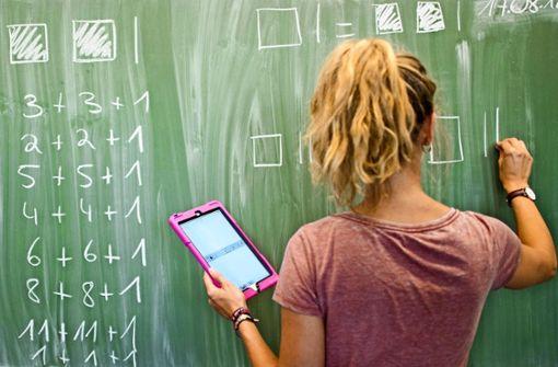 Die Lehrer-Reserve ist jetzt schon verplant