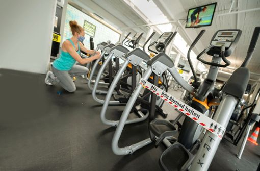 Der Fitnessbranche geht die Puste aus
