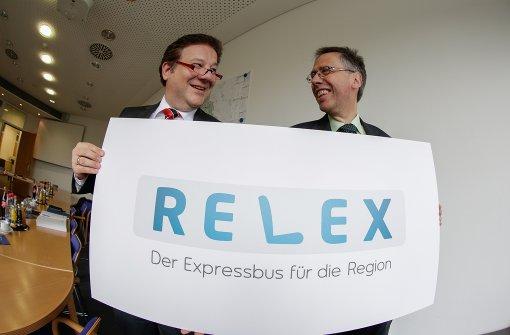 Land bezuschusst neue Relex-Expressbuslinie