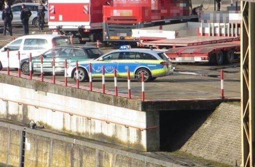 Leiche im Neckar bei Hedelfingen gefunden