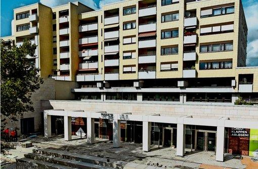 Stadt dringt auf  neue Marstall-Fassade