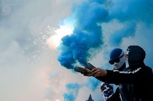 Zweitligist darf Pyrotechnik abbrennen