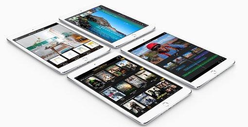Apple stellt Tablets mit Touch ID vor