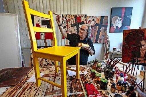 Vom Vagabunden zum Maler