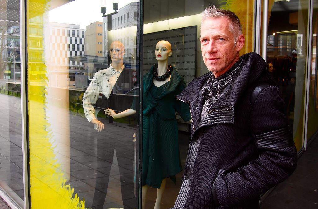 Boutique-Boss Horst Wanschura im Stadtkind-Stylecheck. Foto: Tanja Simoncev
