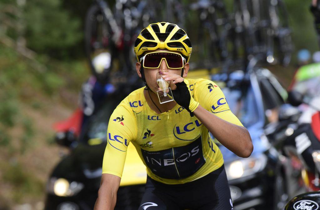 Als erster Südamerikaner und noch dazu als jüngster Radprofi der Nachkriegsgeschichte gewann das Jahrhunderttalent die Tour de France. Foto: picture alliance/dpa