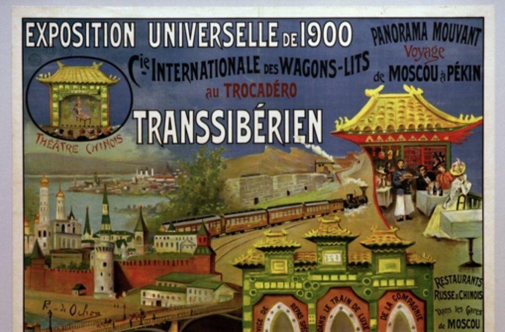 Auf der Pariser Weltausstellung 1900 l Foto: akg