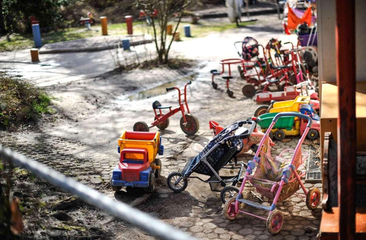 In Friedrichshafen wurde ein Kindergarten vorsorglich geschlossen. (Symbolbild) Foto: Lichtgut/Max Kovalenko