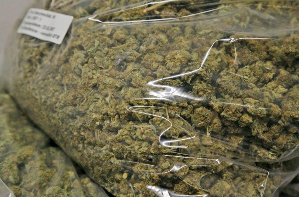 Das Marihuana hat einen Wert von 200.000 Euro. Foto: Hauptzollamt Heilbronn