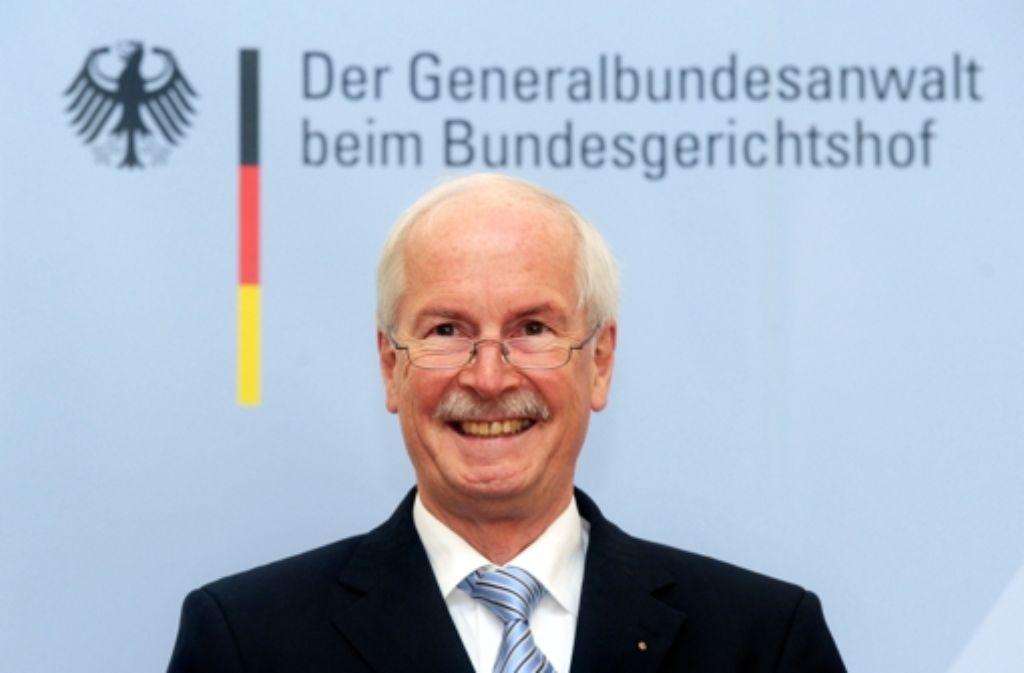 Der geschasste Generalbundesanwalt Harald Range Foto: dpa