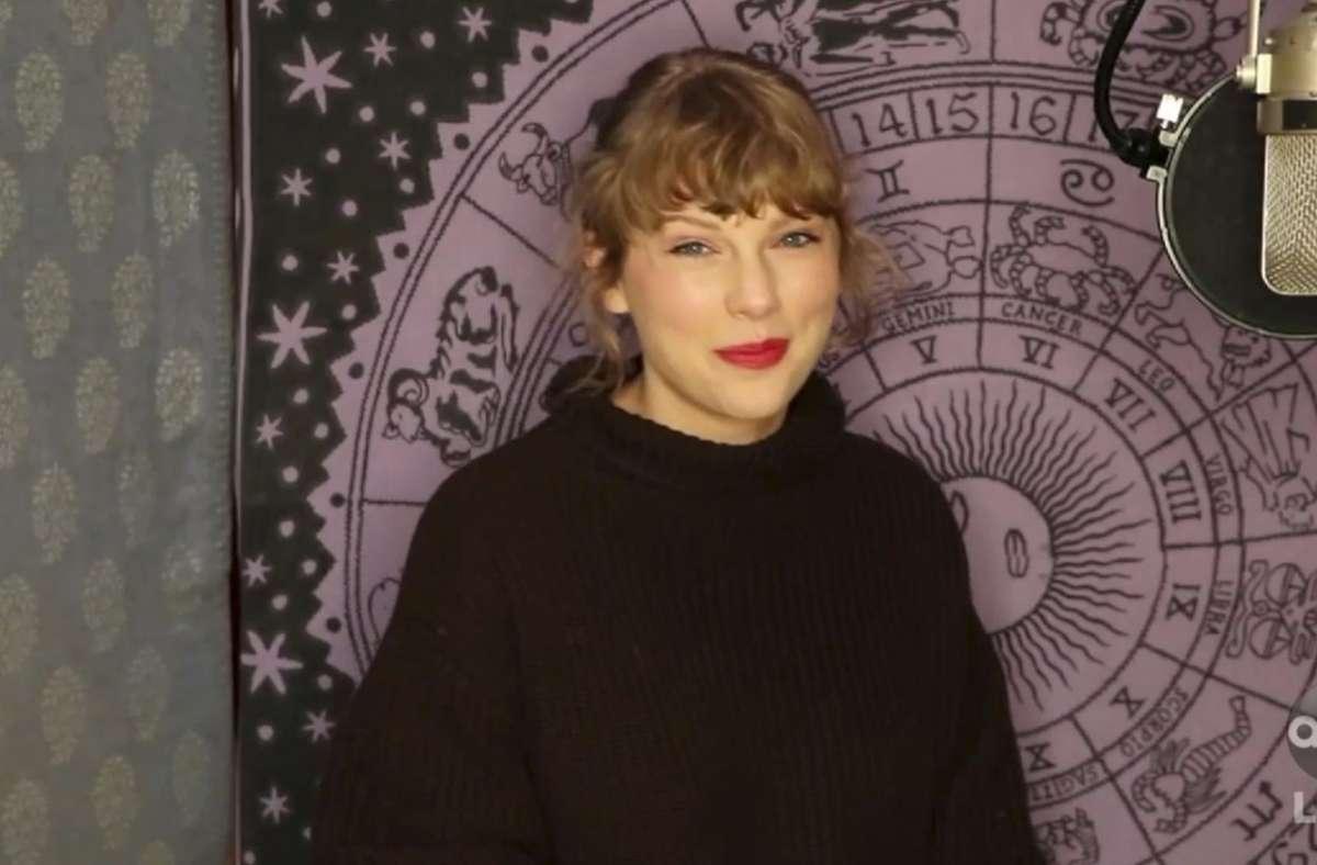 Taylor Swift bekam erneut den Preis als Künstlerin des Jahres. Foto: dpa/Uncredited