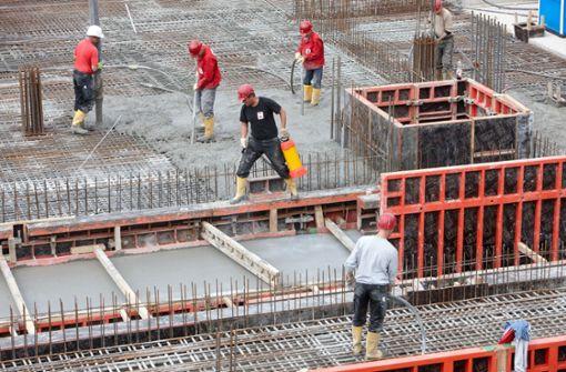 Baufirmen rangeln um Fachkräfte