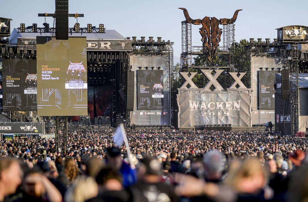 Wacken wird 2020 ausfallen. Foto: dpa/Axel Heimken