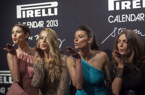 Kunst und Küsschen beim Gala-Dinner in Rio de Janeiro