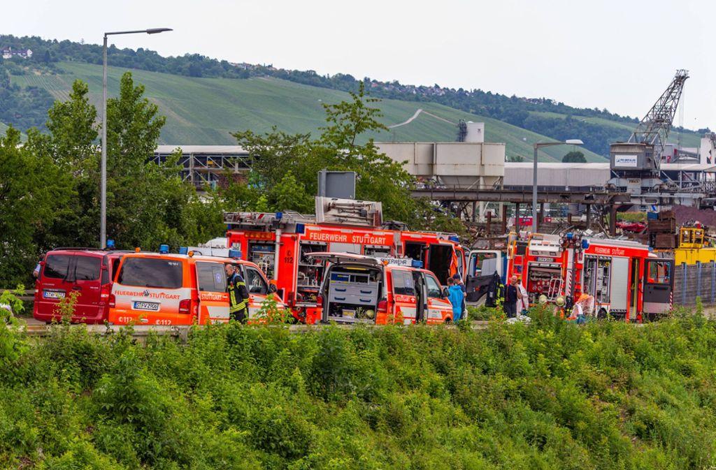 Vermeintlich gefährlicher Schrott löste einen Einsatz in Stuttgart-Hedelfingen aus. Foto: 7aktuell.de/Max Kurrer