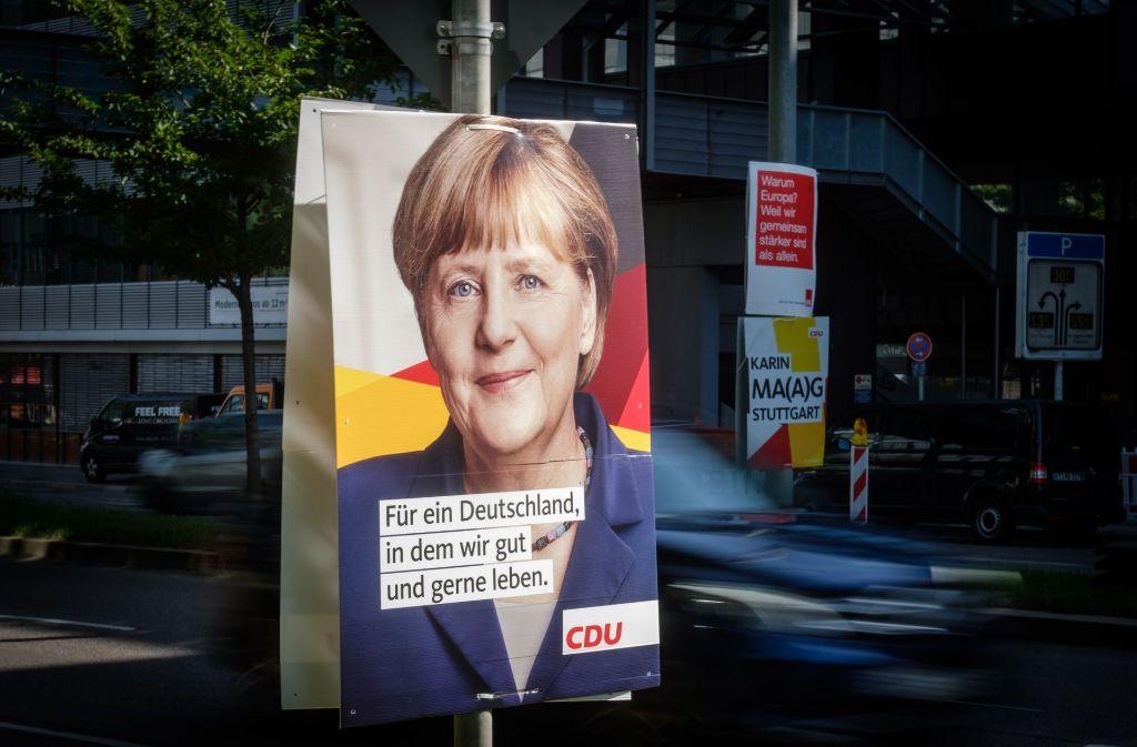 Hilfe im Wahlkampf: Die guten Konjunkturdaten helfen der Kanzlerin. Foto: Lichtgut/Achim Zweygarth