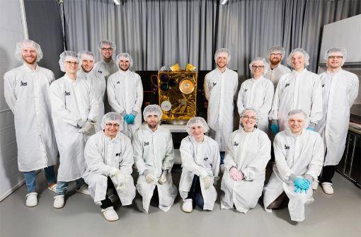 Erster Kleinsatellit startet ins Weltall