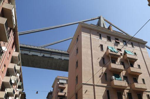 Morandi-Brücke unterlag besonderen Auflagen