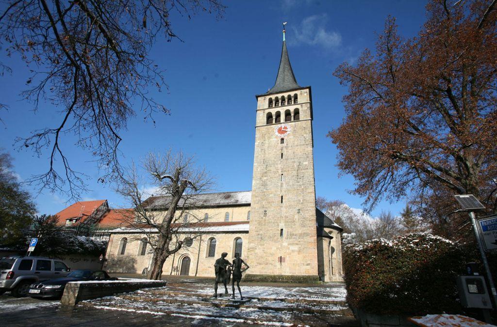 Die Martinskirche ist die Hauptkirche in Sindelfingen. Foto: Daniel Moritz
