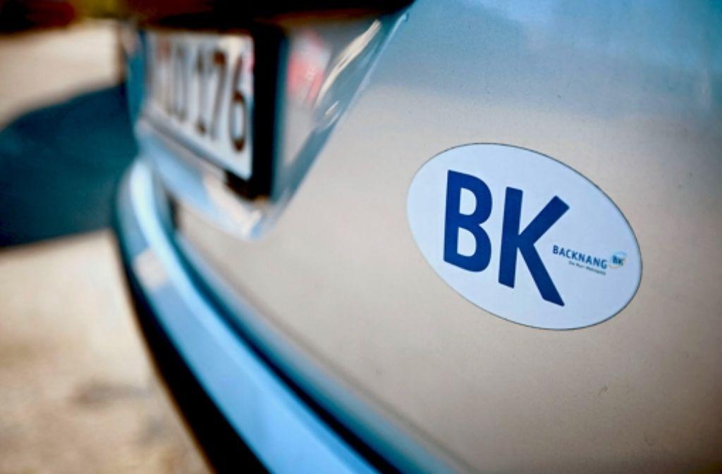 Noch nach 30 Jahren fühlen sich manche dem BK-Schild verbunden. Foto: Gottfried Stoppel