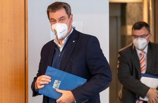 Bayerns Ministerpräsident  muss nicht  in Quarantäne bleiben