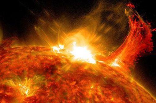 Sonnensturm trifft im August auf die Erde
