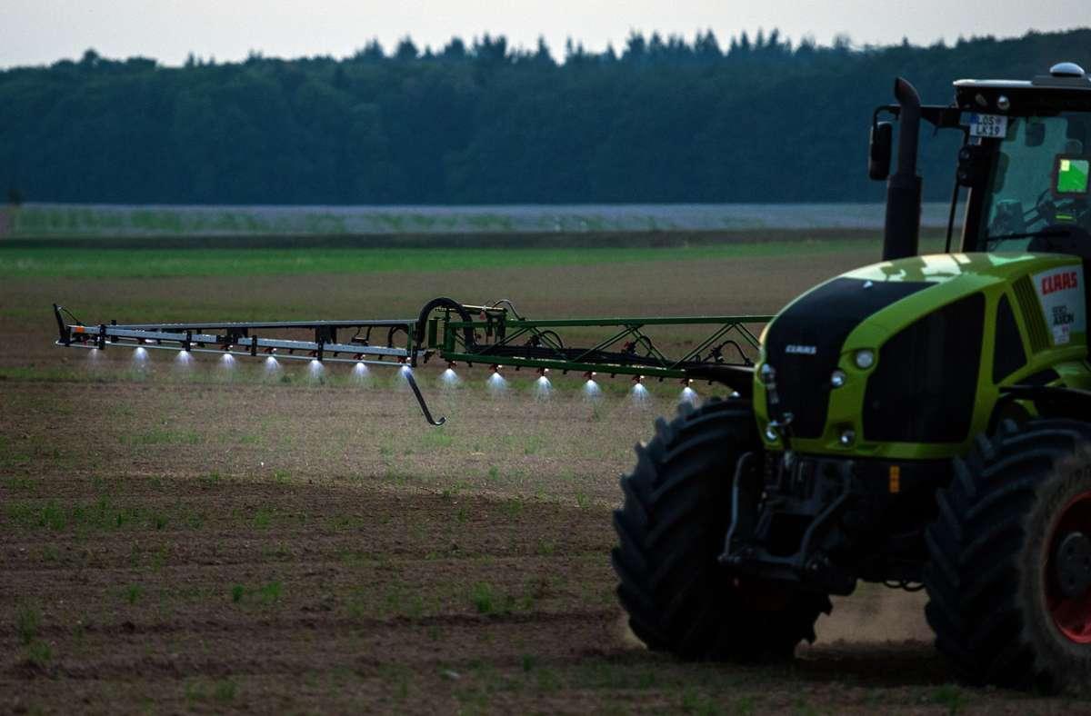 In Schutzgebieten sollen weniger Pestizide eingesetzt werden – so will es die Bundesregierung eigentlich. Foto: dpa/Patrick Pleul