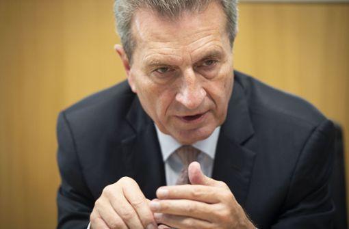 Oettinger für mehr Auslandseinsätze der Bundeswehr