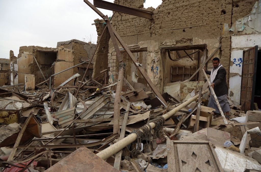 Die Waffenruhe im Jemen werde zwei Wochen gelten, hieß es von Saudi-Arabien. Foto: dpa/Mohammed Mohammed