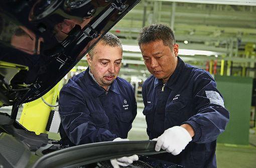 Daimler wertet Lkw-Geschäft in China auf