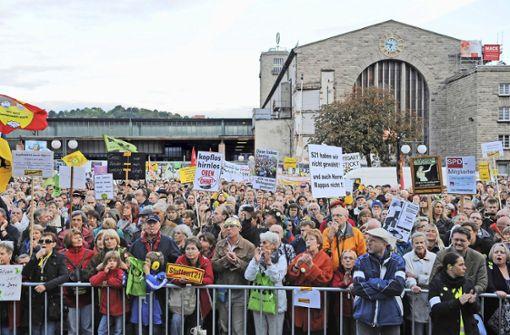 Der Bürgerprotest gegen Stuttgart 21 wird zehn