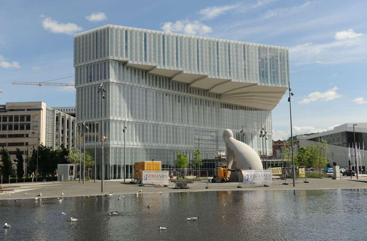 Spektakulärer Auftritt: die neue Deichman Hauptbibliothek in Oslo Foto: dpa/Sigrid Harms