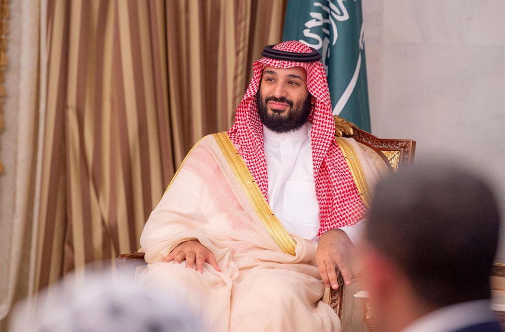 Der saudischen Kronprinzen Mohammed soll tief in den Tod von Jamal Khashoggi involviert sein. Foto: SPA