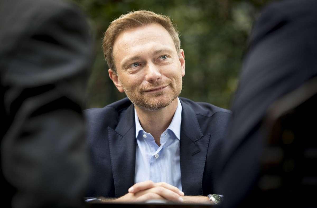 FDP-Chef Christian Lindner will seine Partei nach der Bundestagswahl im Herbst in die Regierung führen. Darauf stimmen sich die Liberalen   auch auf ihrem digitalen Dreikönigstreffen in Stuttgart ein. Foto: imago/photothek/Inga Kjer