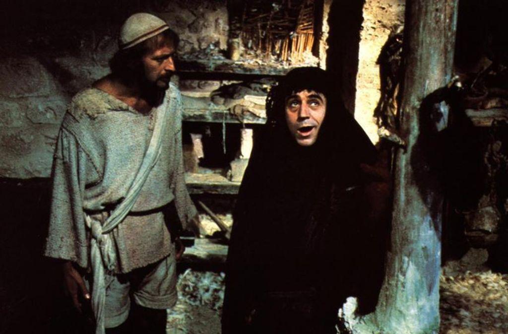 """Szene aus dem Monty-Python-Film """"Das Leben des Brian"""" Foto: Mauritius"""