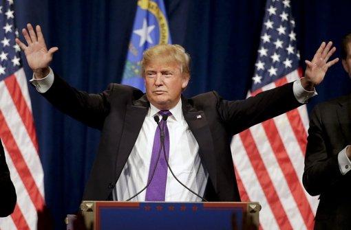 Trump gewinnt die nächste Vorwahl
