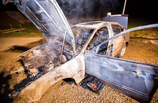 BMW brennt komplett aus