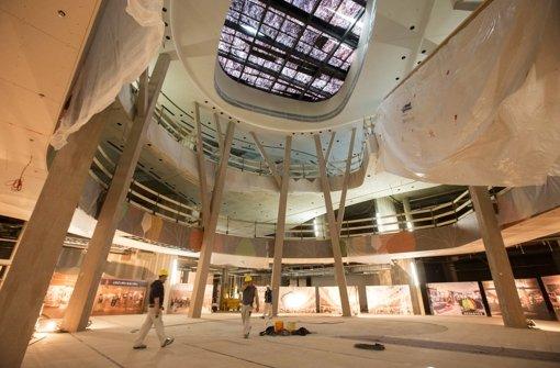 Noch ist das Einkaufszentrum Milaneo nicht fertig. Aber darüber, welchen Einfluss es auf den Stuttgarter Handel und den Verkehr haben wird, lässt sich bereits jetzt diskutieren. Foto: Michael Steinert