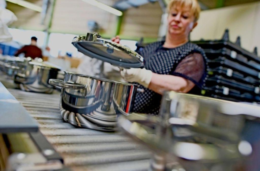 Die Wurzeln von WMF in Geislingen reichen bis ins Jahr 1853 zurück. Seit rund 130 Jahren lädt der Küchenzubehörhersteller seine Anteilseigner zur Hauptversammlung ein. Foto: dpa