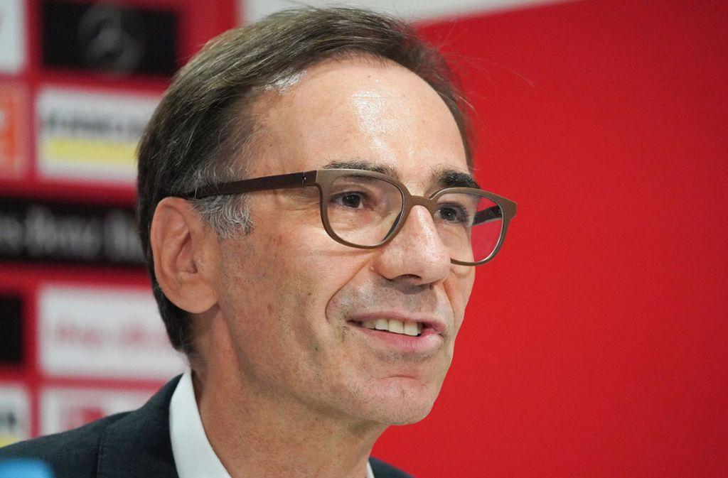 Vizepräsident Bernd Gaiser will den VfB nicht ins falsche Licht gerückt sehen. Foto: Pressefoto Baumann