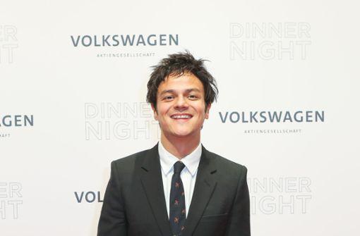 Jamie Cullum feiert mit deutschen Promis unter den Linden