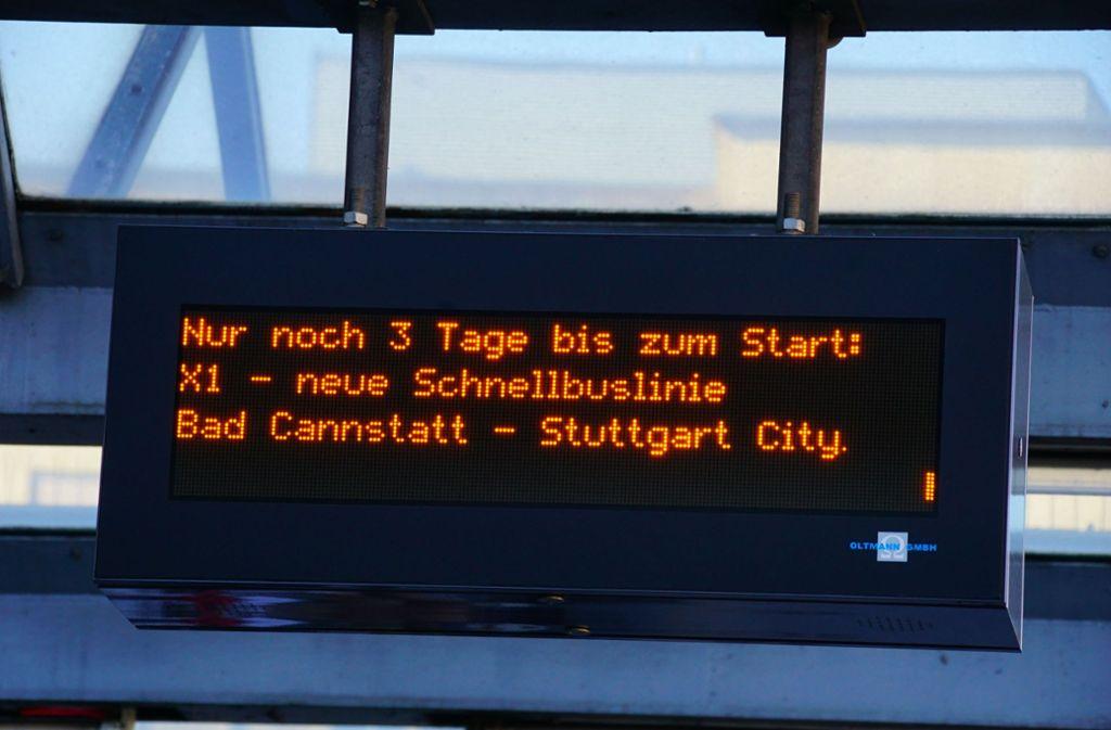 Am Montag startet die neue Expressbus-Linie.  Foto: Andreas Rosar Fotoagentur-Stuttg