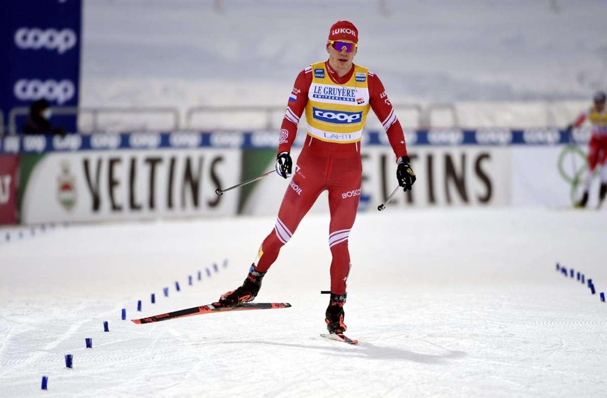 Nach einem doppelten Ausraster von Alexander Bolschunow wurde die Mannschaft Russland I disqualifiziert. (Archivbild) Foto: dpa/Markku Ulander