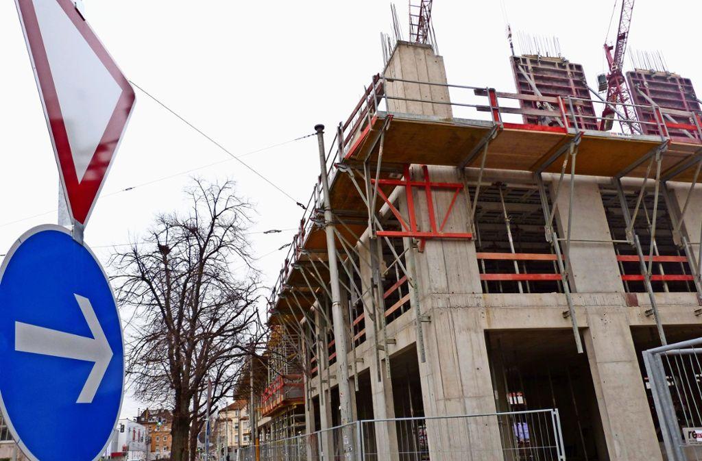 An der Daimlerstraße baut bereits die Münchner Dibag. Foto: Uli Nagel