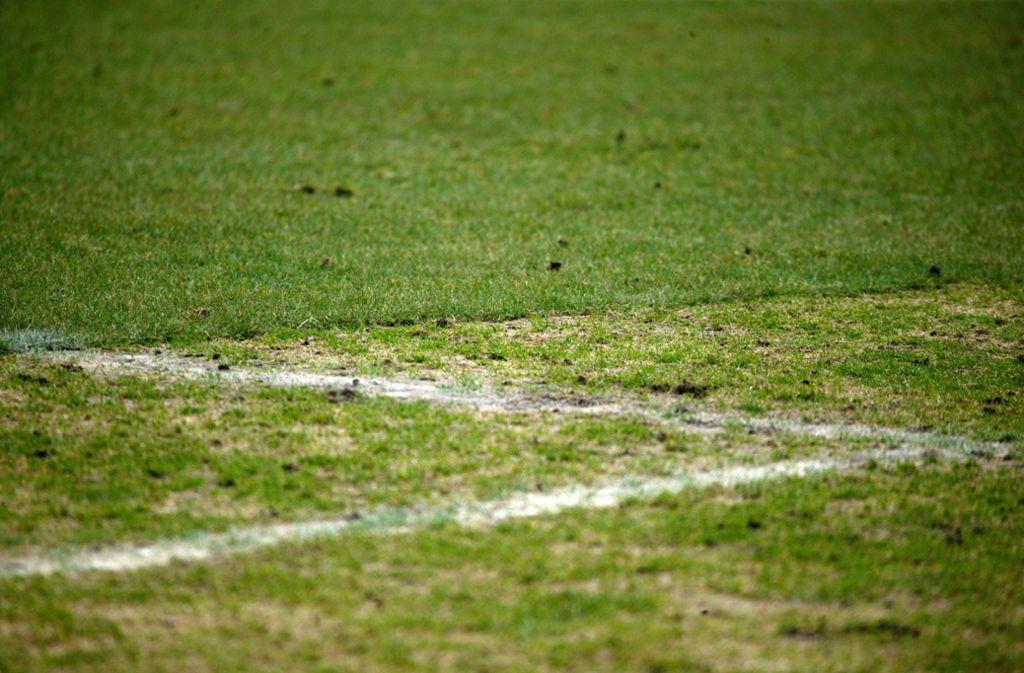 Unbekannte zerstörten den Fußballrasen in Ruppertshofen. (Symbolbild) Foto: imago images/HochZwei/Angerer