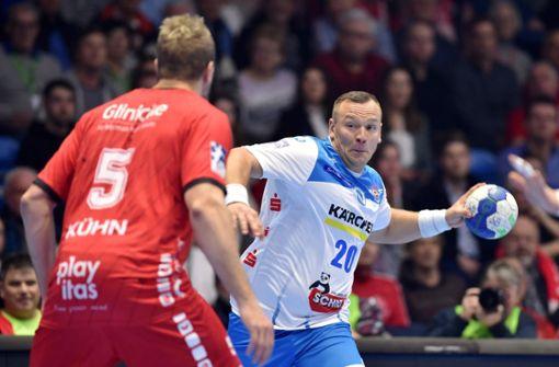 Handballer des THW Kiel zeigen dem TVB Stuttgart die Grenzen auf