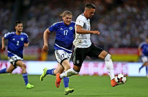WM-Quali: Mit Kapitän Draxler gegen San Marino