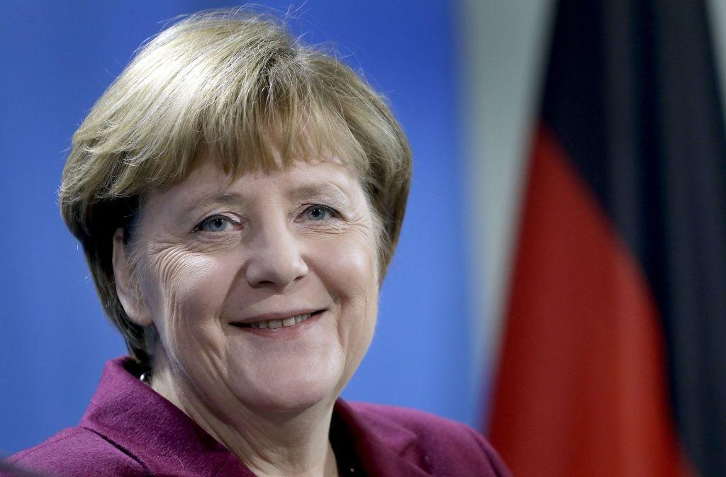 Erneute Kandidatur der Bundeskanzlerin: Angela Merkel will wieder für den CDU-Vorsitz und das Kanzleramt antreten. Foto: AP