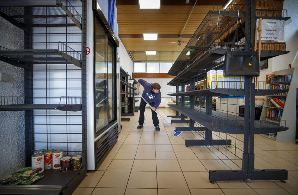 Der Waiblinger Tafelladen ist wegen des Coronavirus geschlossen und wird gründlich gereinigt. Foto: Gottfried Stoppel